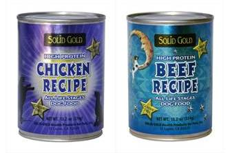 Solid Gold Grain and Gluten Free Canned Dog Foods