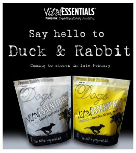 Vital Essentials Duck and rabbit Dog Food