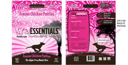 VITAL ESSENTIALS Chicken patties