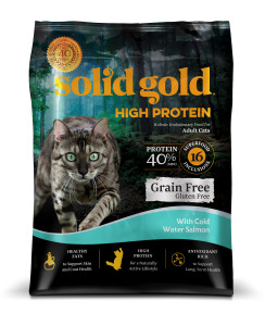 Solid Gold High Protein Salmon Cat