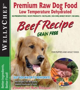 WellyTails Beef Food