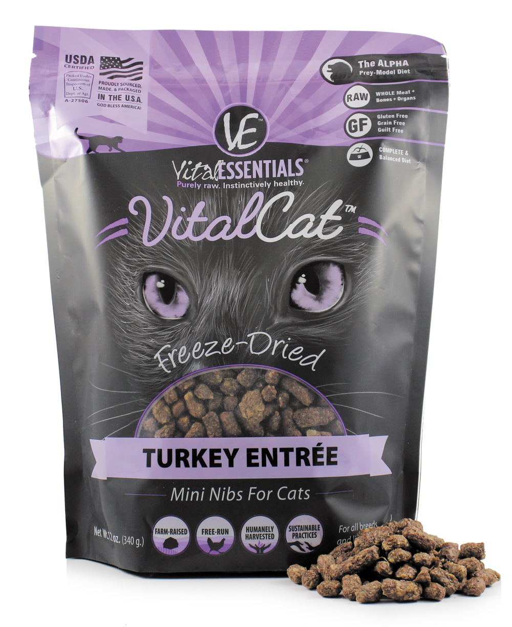 VITAL ESSNTIALS CAT Freeze Dried Turkey
