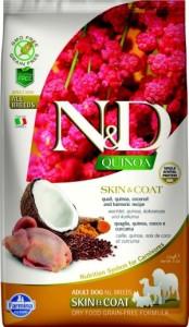 quail, quinoa, coconut and tumeric recipe